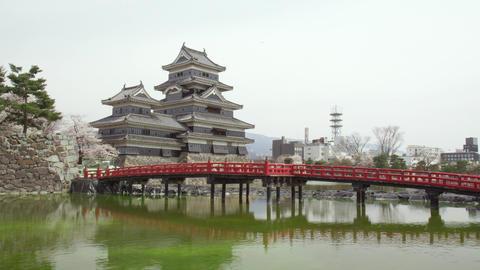 Castle nagano matsumoto matsumotojyou V1-0101 Footage