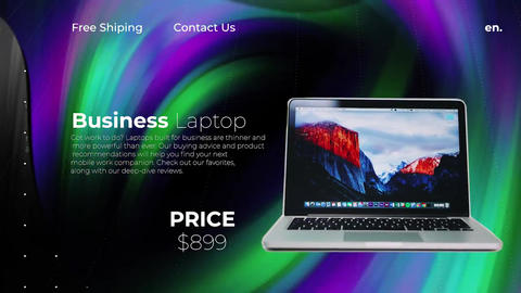 Stylish Product Promo Premiere Pro Template
