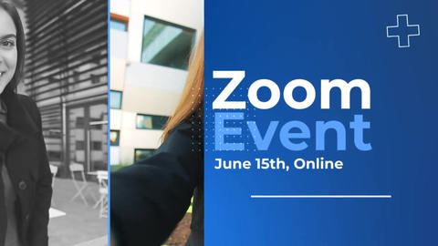 Zoom Video Conference Event Premiere Pro Template