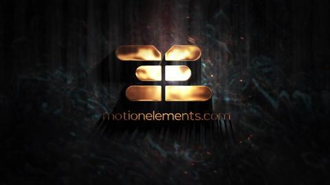 Gold Logo Plantilla de After Effects