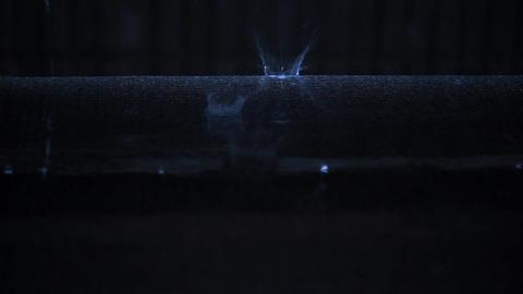 The sound of rain. A rainy night, a ripple of rain. Rainy season. Heavy rain Live Action