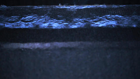 No sound of rain. A rainy night, a ripple of rain. Rainy season. Heavy rain Live Action