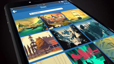 App Showcase After Effects Projekt