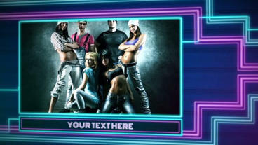 Disco Night After Effects Template