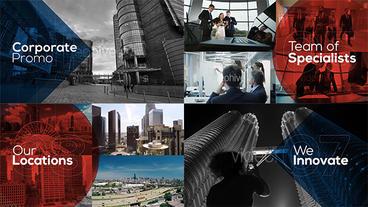 Business - Corporate Promo Plantilla de After Effects