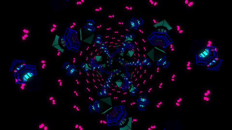 Dancing Led 4K 04 Vj Loop Animation