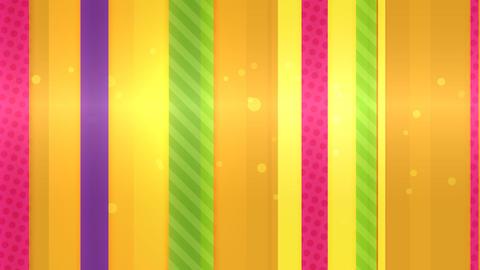 光沢のあるストライプ-ポップ CG動画