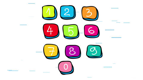 digital keyboard or keypad using wireless technology with computer programming and electronic Animation