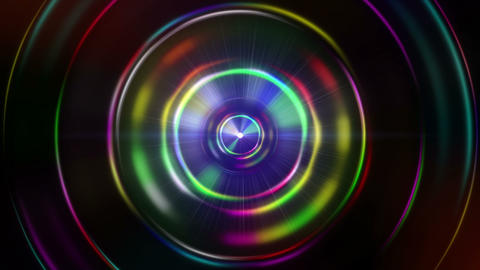 Magic lens animate background concept Animation