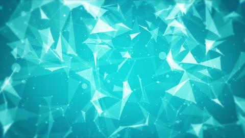 Plexus abstract technology background Animation
