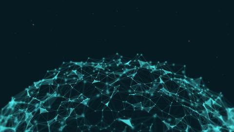 Plexus Spherical Network Animation