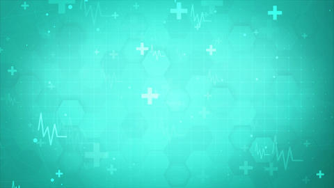 Medical Business Presentation Background Animation
