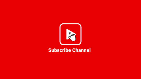 Subscribe Logo Animate Video Social Media Channel Content Animation