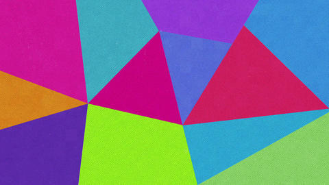 90s Abstract Retro Geometric Animate Background Animation