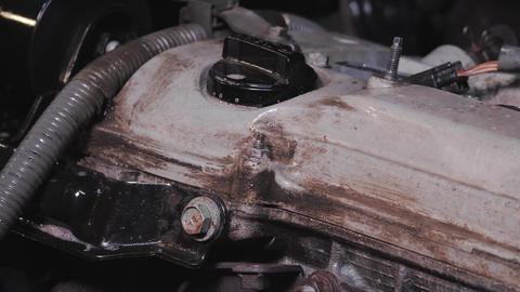 Child engine washing engine cleaning car engine Live Action