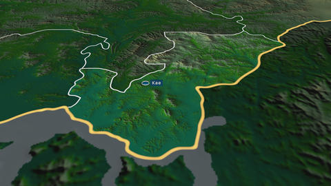 Kaesŏng - special administrative region of North-Korea. Physical Animation