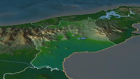 Coclé - province of Panama. Physical Animation