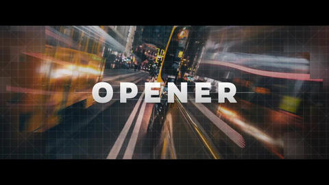 Logo Reveal - Strips Opener After Effects Template