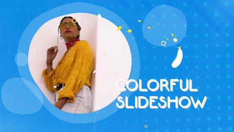 Colorful Liquid Slideshow Plantilla de After Effects