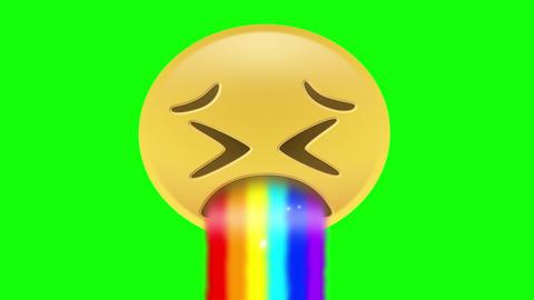 Gay Pride Rainbow Emoji Animation