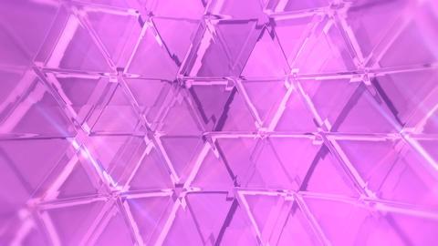 20161002 triMosaicGlass A purple PJ Animation