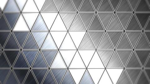 三角モザイクタイル - メタリック CG動画