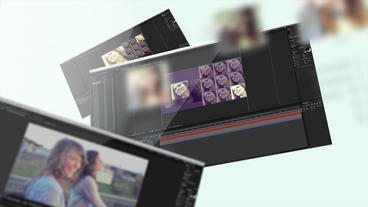 Skin color correction and color filter After Effects Template