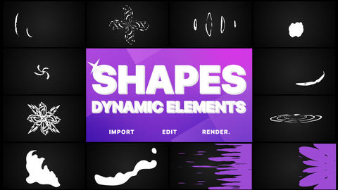Dynamic Shapes And Transitions Pack Animation