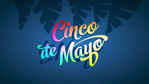 mexican commemorative date cinco de mayo ad to celebrate with delicious feasts parades and dance Animation