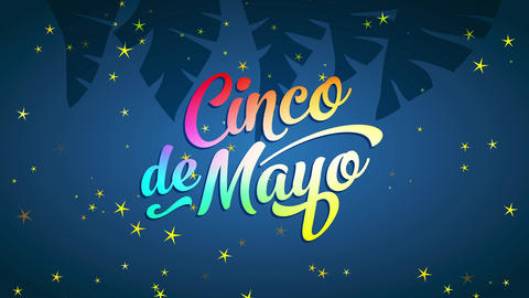 mexican commemorative date cinco de mayo ad to meet with delicious feasts parades and move Animation
