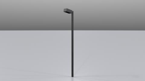 Street lamp04 3D Model