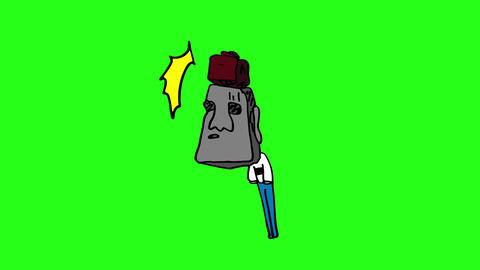 Moai-bikkuri Animation