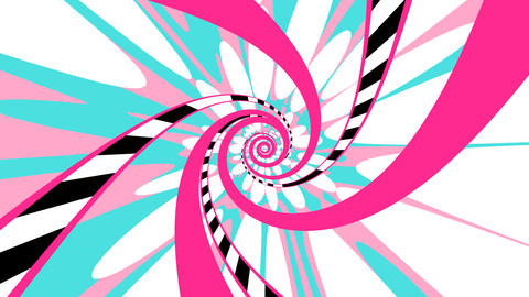 Psychedelic Spiral - Pink CG動画