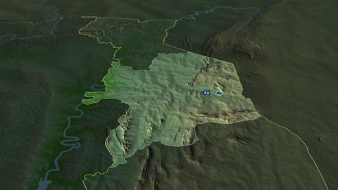 Kara - region of Togo. Physical Animation