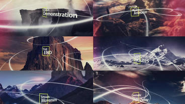Video / Photo Slide Shows AE templates, motion graphics templates