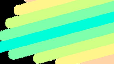 レインボートランジション_008 CG動画