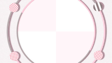 Circle Motion Graphics - Pink Animation