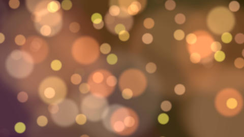 Colored Abstract Blurry Bokeh Background Animation