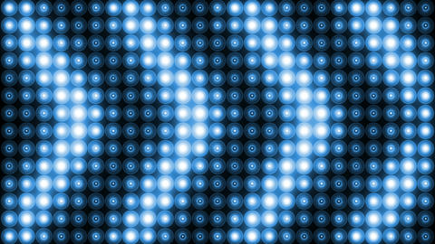 Blue Lights Vj Loop Animation