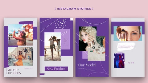 Instagram Stories: Influencer pack After Effects Template