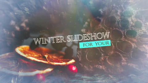 Winter Slideshow Premiere Pro Template