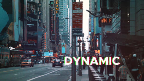 Dynamic Glitch Intro Plantillas de Premiere Pro