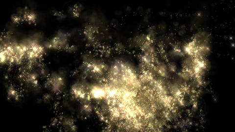 animation - Particle Abstract glitter Cosmic Flares Animation