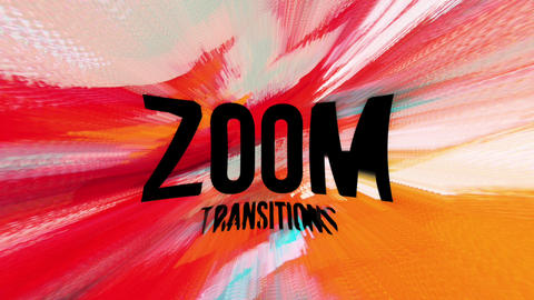 Zoom Transitions Apple Motion Template