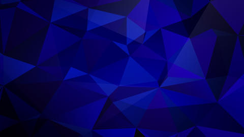 Animated Blue Triangle Fractal Backdrop Animation