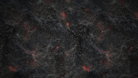 abstract background with disgusting slimy bowels Animation