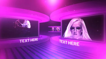 Stage Display After Effects Project
