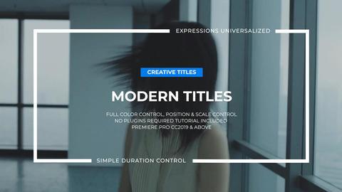 Big Typo Titles I Premiere Pro (MOGRT) Motion Graphics Template