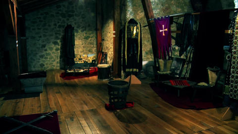 the knight's room in the castle GIF
