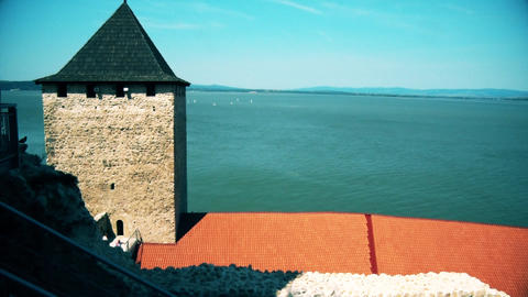 the dome of the fortress on the Danube GIF